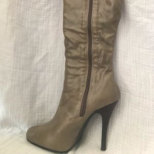 CathyJean High Heel Boots